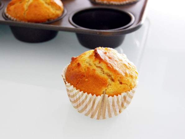 Almond muffins in ginger scent