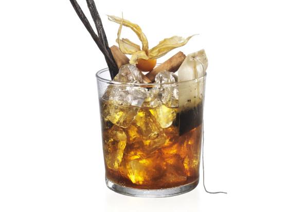 Vecchia Romagna cocktail