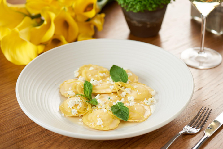 Ravioli with Amalfi Lemon & Ricotta